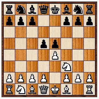 Contre gambit du pion Dame 1.e4 e5 2.Cf3 d5