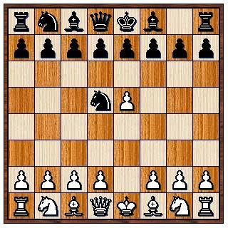 Défense Alekhine 1.e4 Cf6 2.e5 Cd5