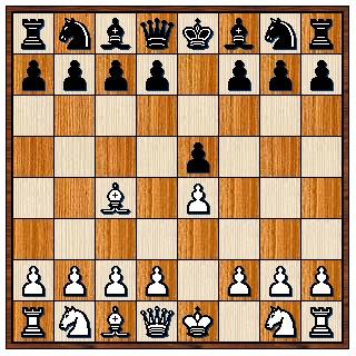 Partie du Fou 1.e4 e4 2.Fc4