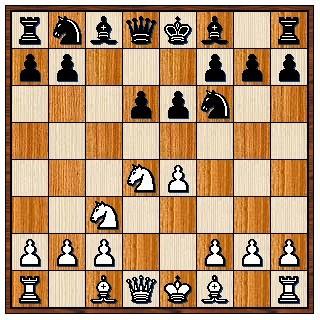 Défense Sicilienne Scheveningue 1.e4 c5 2.Cf3 e6 3.d4 cxd4 4.Cxd4 Cf6 5.Cc3 d6