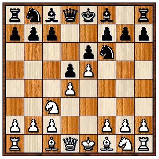 Défense Française variante d'avance e4 e6 d4 d5 Cc3 Cf6 e5