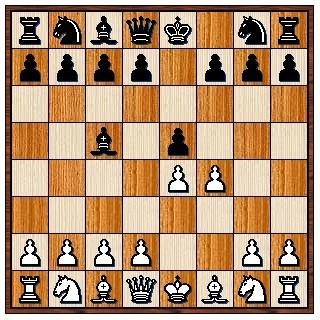 Gambit du Roi refusé 1.e4 e5 2.f4 Fc5