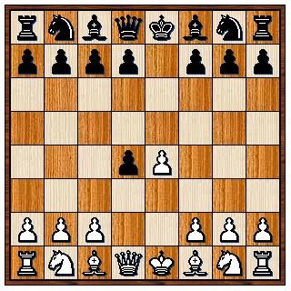 Partie du centre 1.e4 e5 2.d4 exd4
