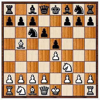 Partie Espagnole défense Steinitz 1.e4 e5 2.Cf3 Cc6 3.Fb5 d6