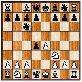 Partie Ecossaise 1.e4 e5 2.Cf3 Cc6 3.d4 exd4