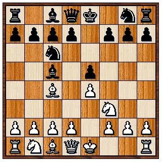 Partie Italienne (Giuoco Piano) 1.e4 e5 2.Cf3 Cc6 3.Fc4 Fc5