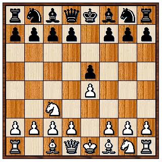 Partie viennoise 1.e4 e5 2.Cc3