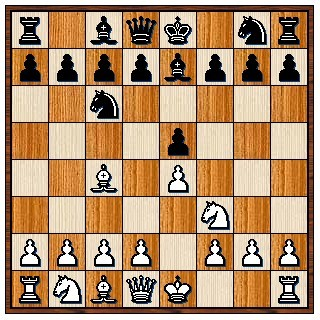 Défense Hongroise 1.e4 e5 2.Cf3 Cc6 3.Fc4 Fe7