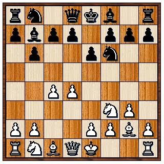 Défense Ouest-Indienne 1.d4 Cf6 2.c4 e6 3.Cf3 b6 4.g3 Fb7 5.Fg2