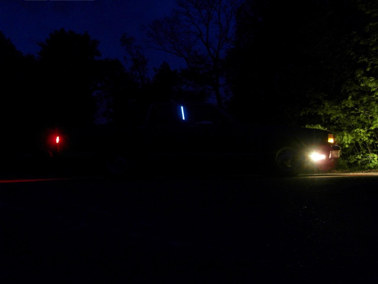 Opera Lights beleuchtet mit EL-Folie weiß