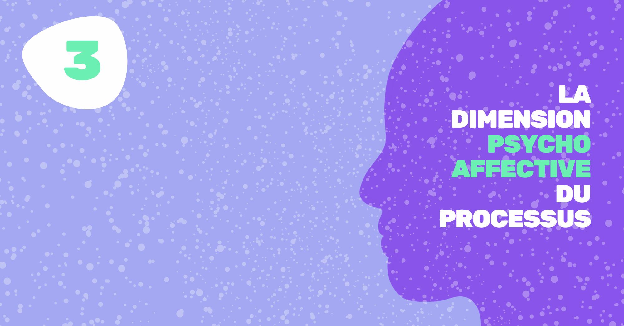 3. LA DIMENSION PSYCHOAFFECTIVE DU PROCESSUS