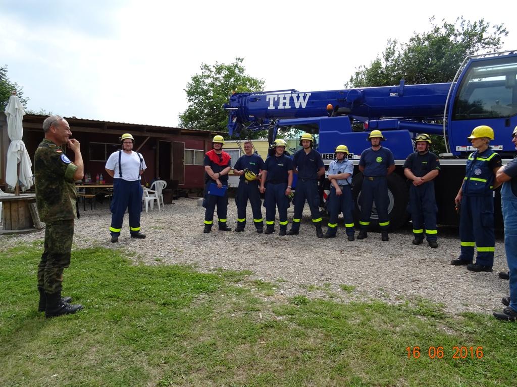 Aufbau Mobilheim 44 Teampartner-Hund-Hoya e.V.