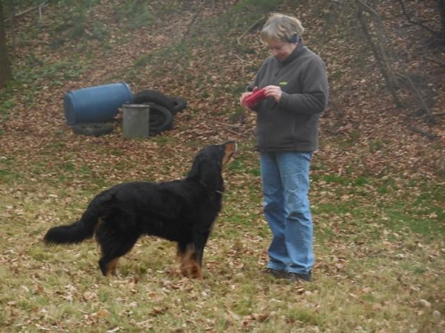 Hundeausbildung Jutta mit Böhnchen