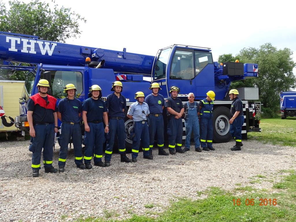 Aufbau Mobilheim 43 Teampartner-Hund-Hoya e.V.