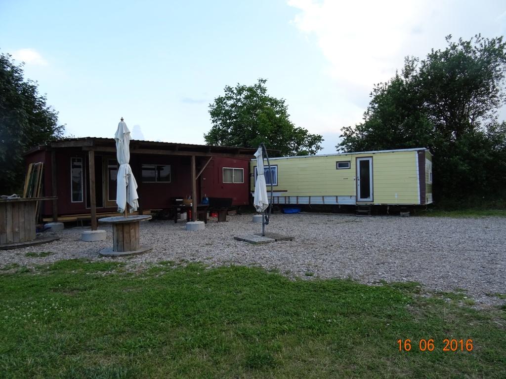 Aufbau Mobilheim 46 Teampartner-Hund-Hoya e.V.
