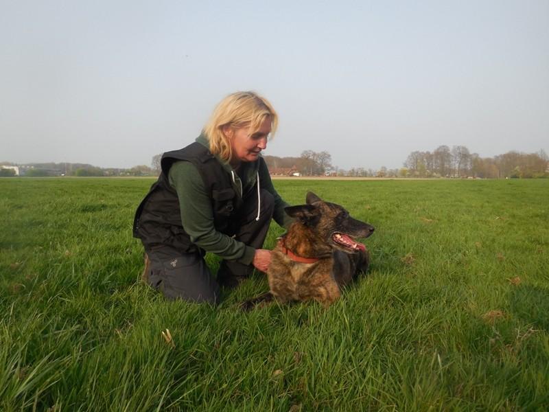 Silke mit Dakota Teampartner-Hund-Hoya e.V.