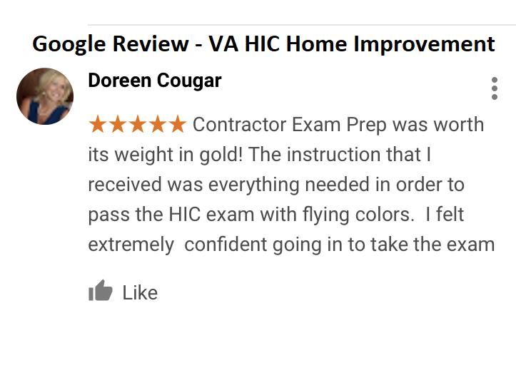 VA Home Improvement License (HIC) Exam Prep  Guaranteed