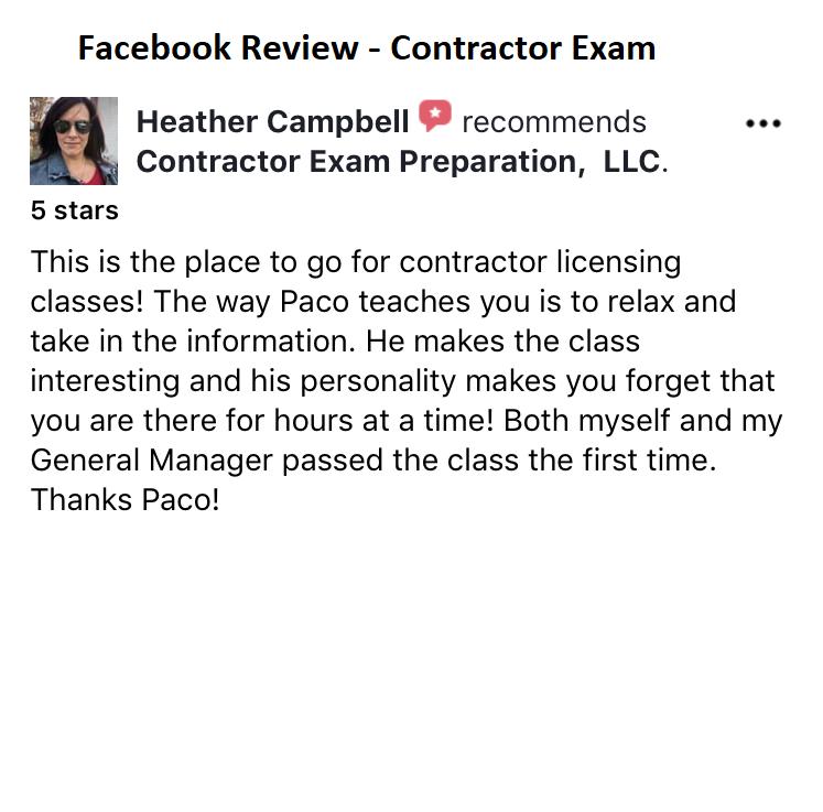 VA Residential Bldg Contractor (RBC) Exam Prep  Guaranteed Just One Session