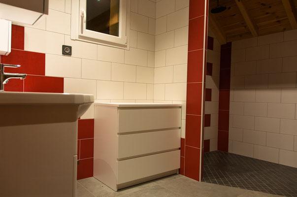 Salle de bain, Gite Le Maréva, Le Dévoluy, Hautes-Alpes