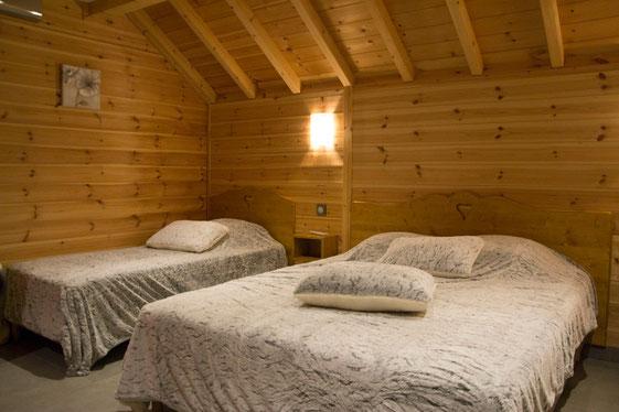 Chambre Rabou, Gite Le Maréva, Le Dévoluy, Hautes-Alpes