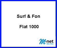 Surf & Fon Flat 1000 Glasfaser Anschluss von M-net