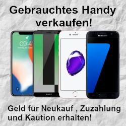 Gebrauchtes Smartphone verkaufen und mit Verkaufserlös den Kaufpreis, die Anzahlung oder die Kaution für das neue Handy finanzieren