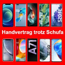 Handyvertrag mit Handy trotz Schufa Eintrag bekommen!