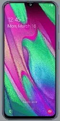 Samsung Galaxy A40 Handy trotz Schufa kann auch als gebrauchtes Smartphone gekauft werden
