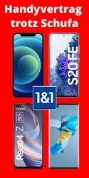 Handyvertrag mit Handy trotz Schufa Eintrag von 1 & 1
