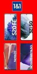 Samsung Galaxy S21 trotz Schufa mit Handyvertrag bei 1 & 1 bestellen