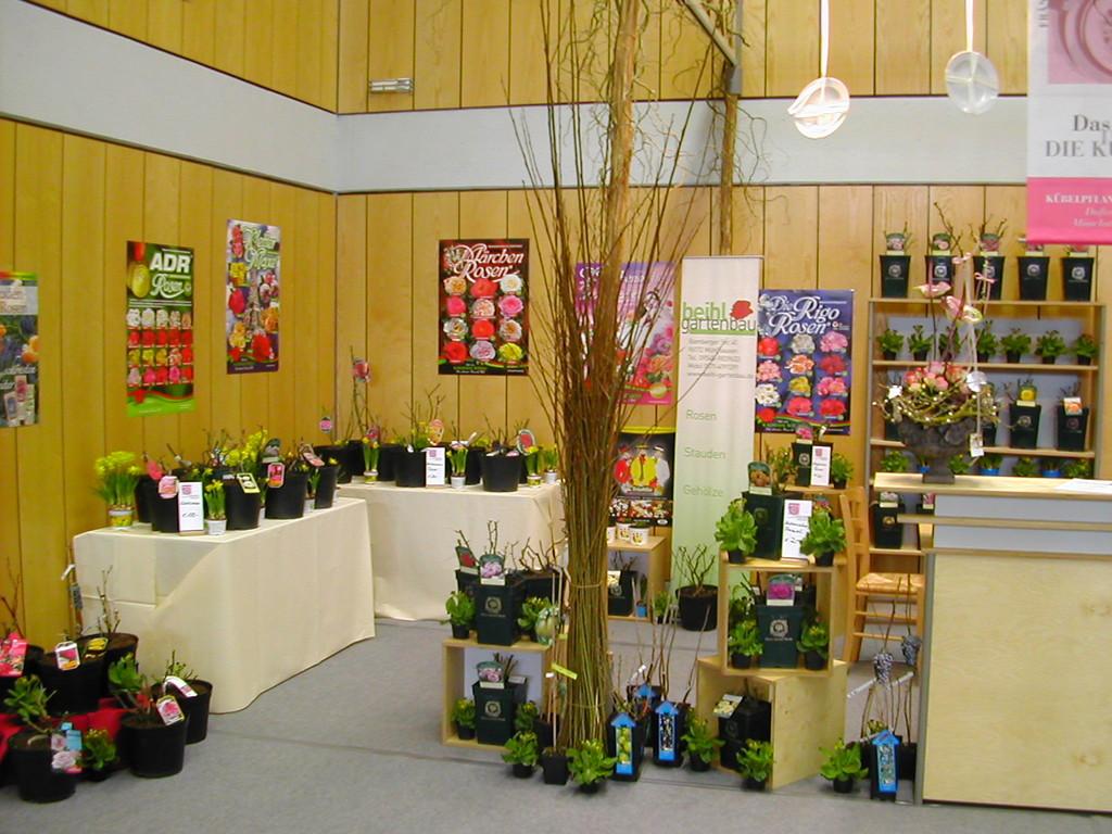 Ausstellungsbeitrag auf der Feinschmeckermesse 2012 in Iphofen