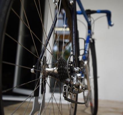 Radnabe Laufrad Cycling Team Schweinfurt