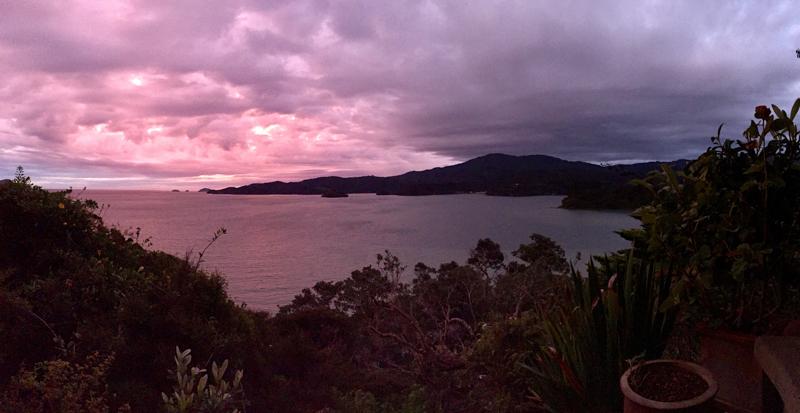 ... bis die Wolken wieder lila sind - jeder Sunset ist anders, glaubt mir