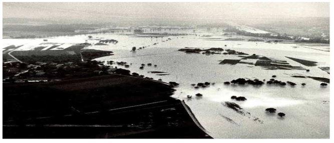 Hochwasser Thur 1965