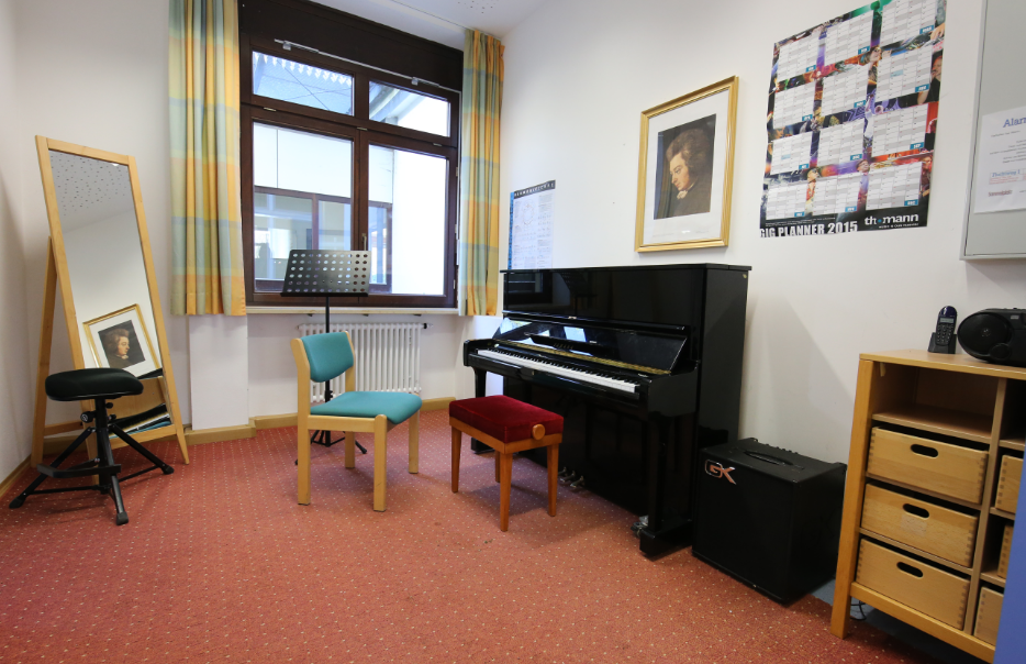 Grundschule Kranzberg Unterrichtsraum 1, Erdgeschoss