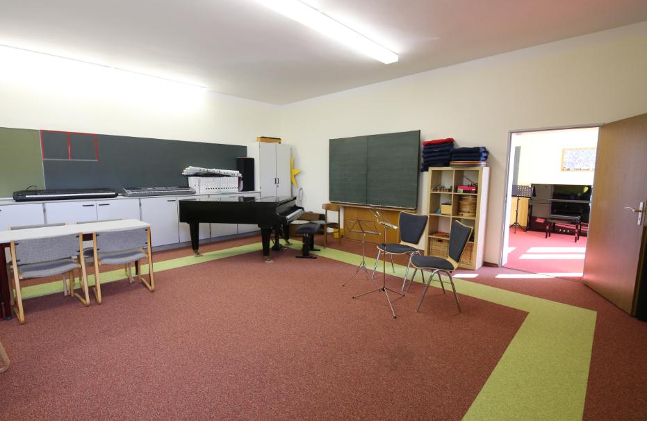 Grundschule Paunzhausen Musikraum