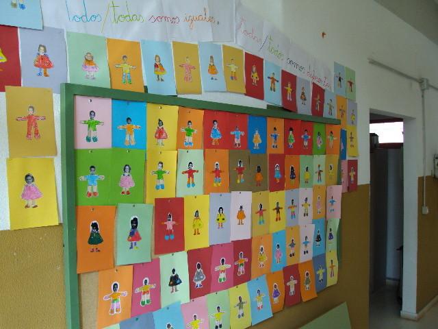 Edificio de Educación Infantil. Pasillo de entrada