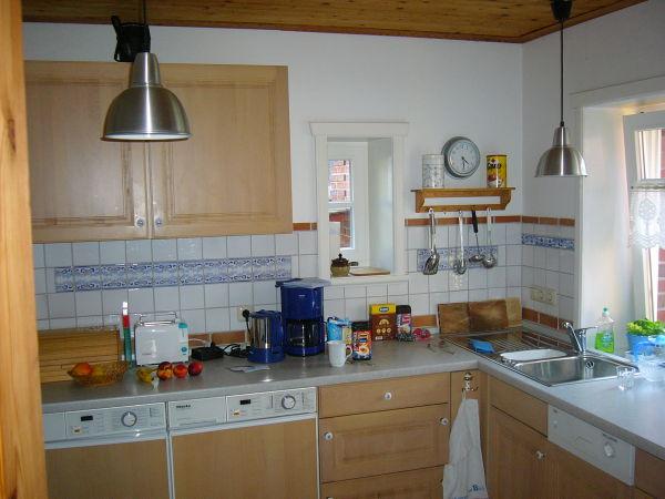 Küche der unteren Wohnung
