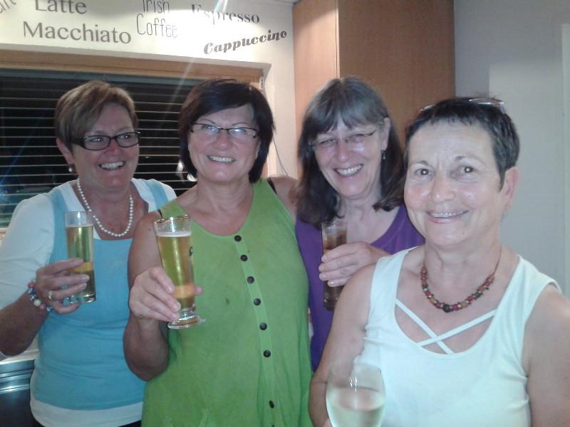 Roswitha, Annelies, Reingart, Gerda