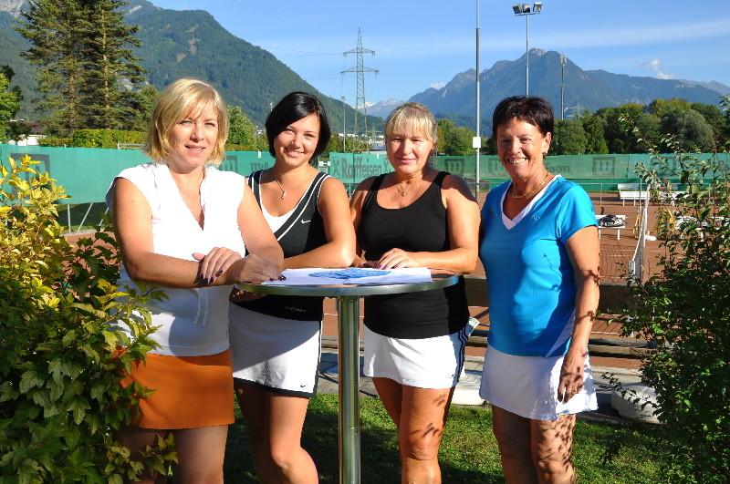 Finalistinnen Damen Doppel