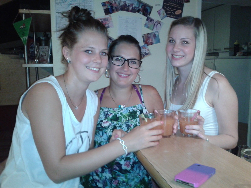 Elena, Anja, Florina