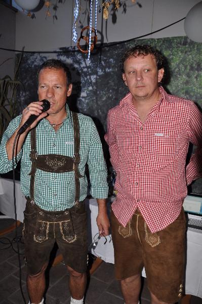 Obmann Kurt und Sportwart Schnaggi