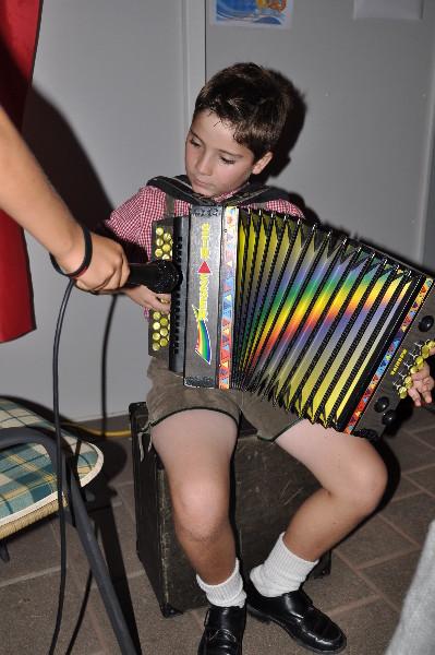Entertainer Tobias sorgte für Unterhaltung!