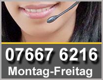 Service Nummer: 07667 6216