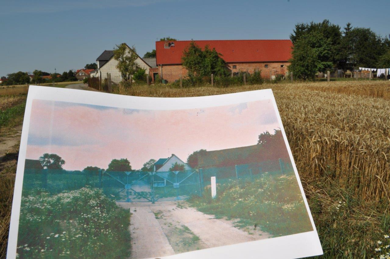 Grenzsicherungszaun in Dahrendorf - Weg zum DDR-Grenzturm
