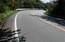 路面の縦溝 グルービング工法