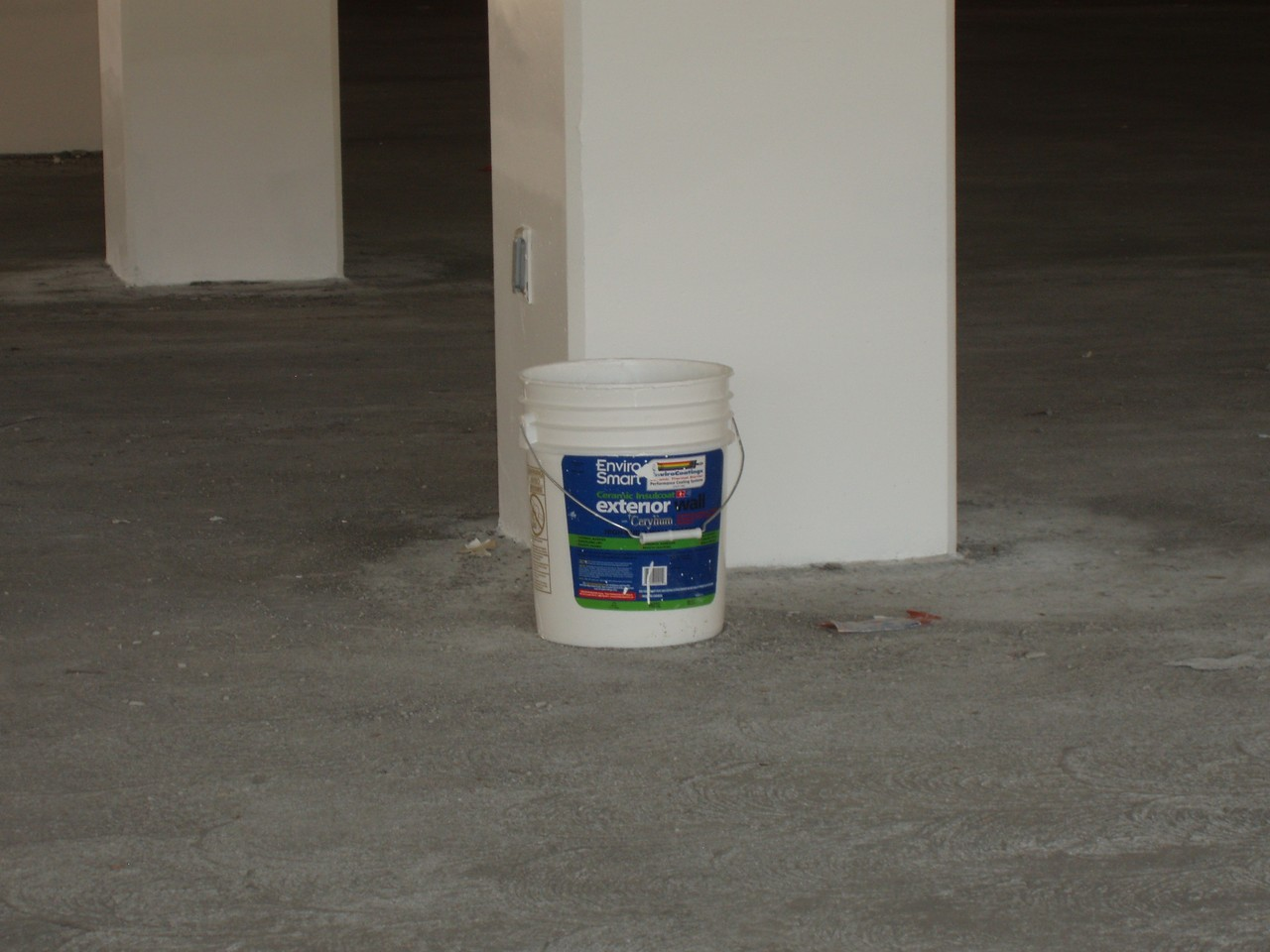 Pail of Ceramic InsulCoat Wall!