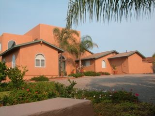 Ceramic InsulCoat Wall - Stucco - Moroccan-Style House; Vista, California