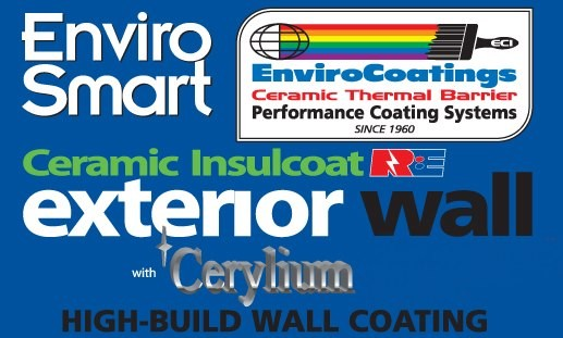 EnviroCoatings Ceramic InsulCoat Wall: Energy Saving Cool Wall