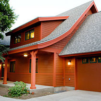 Ceramic InsulCoat Wall is perfect for siding and can be tinted to any Color.